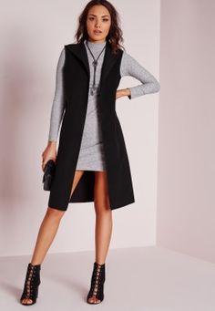d96860a439e04 Coats & Jackets | Women's Coats Online UK. Sleeveless Blazer OutfitLong  Vest SleevelessSleevless BlazerGray Dress ...
