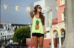 Fashion Friday: Estampa de abacaxi #CBBlogers #fashion