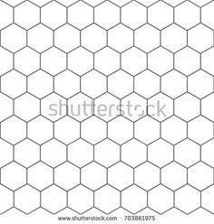 Hexagon geometric texture – vector for stock