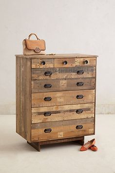 Handcrafted Marpole Dresser #anthropologie