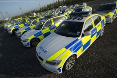 The rare site seen was recently as many of Greater Manchester Police's ANPR fleet gathered together for an operation.  Over 250 officers using ANPR (automatic number plate recognition) technology in more than 100 police cars went on the road to monitor traffic on the region's main routes.  The operation saw over 1,800 vehicle checks.