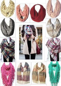 Tigerstars l Our Customer's Favorite Scarves. Solid, Plaid, Fringe / Ruffle & Furry / Soft Warm Cozy.  To Give & To Get.