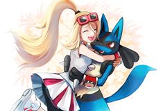 pokemon xy korrina and lucario - Google zoeken