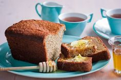 Egg-free banana coconut bread - sub coconut milk & vinegar for the buttermilk