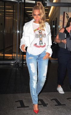 Beyonce Syle Classy and Stylish in 64 Outfits #beyonce #style #casual #outfits #street #swag #fashion
