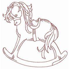 12 Best rocking horse to emborder images in 2013 | Horse coloring ...