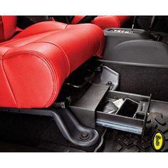 Locking Under Seat Storage Box in Textured Black for Jeep Wrangler & Wrangler Unlimited JK Passenger Side Bestop® Locking Under Seat Storage Box in Textured Black Jeep Wrangler Jk, Jeep Rubicon, Jeep Wrangler Unlimited, Jeep Wrangler Accessories, Jeep Accessories, Jeep Patriot Accessories, 4runner Accessories, Srt8 Jeep, Jeep Mods