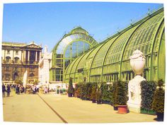palmenhaus vienna austria, one of my favourite buildings in Europe… Austria Travel, European Tour, Backpacking Europe, Vienna Austria, Science And Nature, Cool Places To Visit, Adventure Travel, The Good Place, Travel Destinations