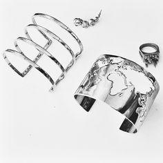 Silver jewelry  by Cristina Ramella // Cristina Ramella Jewerly