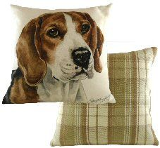 Beagle Boston Waggy Dogz Cushion