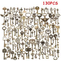Cupboard Lock Ornate Keyblank Antique Furniture LQQK Free Postage!