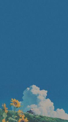 aesthetics 🌸 // lockscreens for you ✨ Soft Wallpaper, Anime Scenery Wallpaper, Iphone Background Wallpaper, Aesthetic Pastel Wallpaper, Kawaii Wallpaper, Aesthetic Backgrounds, Cartoon Wallpaper, Aesthetic Wallpapers, Wallpaper Lockscreen