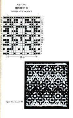 Mosaic Knitting Barbara G. Walker (Lenivii gakkard) Mosaic Knitting Barbara G. Walker (Lenivii gakkard) #180