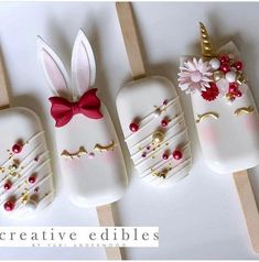 Cake Pops Christmas Ideas Cakepops Ideas For 2019 Paletas Chocolate, Easter Cake Pops, Easter Bunny Cake, Easter Cupcakes, Magnum Paleta, Cakepops, Christmas Cake Pops, Christmas Ideas, Buckwheat Cake