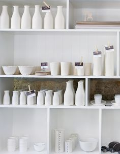 Donna Hay White table ware.  LOVE