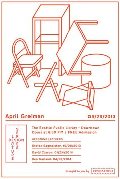 Civilization's Design Lecture Series: April Greiman (28 SEP 2013) Seattle, USA