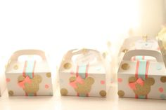 Minnie Mouse Favor Boxes 10 by ChiqueDesign on Etsy