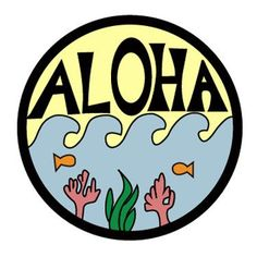 """Say hello to our favorite island patch! The ALOHA hipstapatch™ is an embroidered fabric patch that measures approximately 1"""" x 1"""" with a peel-and-stick adhesive backing. Stick it on your shoes, hat, b"""