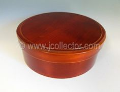 Japanese Shunkei lacquer tea box at www.Jcollector.com