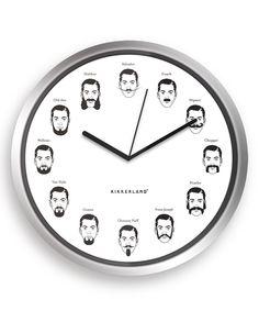 Mustaches Clock $9