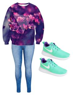 """""""Primed"""" by causeimkayla ❤ liked on Polyvore featuring City Chic, Chicnova Fashion and NIKE"""