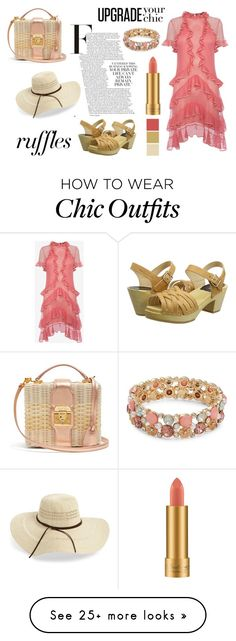 """""""Ruffles"""" by amld-styles on Polyvore featuring Rip Curl, Alexander McQueen, Swedish Hasbeens, Mark Cross, Design Lab and MAC Cosmetics Swedish Hasbeens, Mark Cross, Design Lab, Rip Curl, Chic Outfits, Mac Cosmetics, Ruffles, Alexander Mcqueen, Polyvore"""