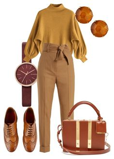Sweater Weather by roxysgotmoxy on Polyvore featuring polyvore, fashion, style, Sara Battaglia, Grenson, Sophie Hulme, Ippolita, Skagen and clothing