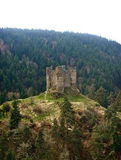 Castillo abandonado en Francia.