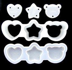 heart, star and bear http://ebay.to/2fb06SI #bento #lunch #Onigiri #riceball #cooking #kitchen #ebay #Japan #food #mold #shopping