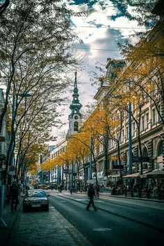 Mariahilfer Straße – Vienna – Austria (by franzj) – June Vivatvanit – Join the world of pin Places To Travel, Places To See, Austria Travel, City Landscape, Vienna, Photos, Pictures, Beautiful Places, Paisajes