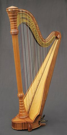 """Javelot de Gabriel"" harp by Ranier Thurau"