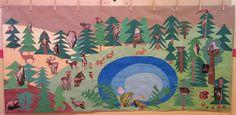 Den Země - les - 2. třída Painting, Art, Art Background, Painting Art, Kunst, Paintings, Performing Arts, Painted Canvas, Drawings