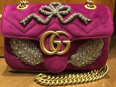 Gucci bag Marmont original velluto