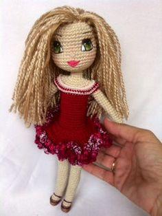 Crochet Doll Handmade by Kindabam Crochet  30 by KindabamCrochet
