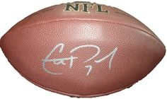Christian Ponder Autographed NFL Football W/PROOF, Picture of Christian Signing For Us, Minnesota Vikings, Florida State Seminols by Wilson. $109.99. This is an Wilson NFL football signed by Christian Ponder. This football was signed in a thick silver paint pen. This item will come with a Certificate of Authenticity (of our own design) as well as a picture of the athlete/celebrity signing without the yellow bar across it. The pictures of the athlete/celebrity signing for u...