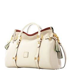 Everybody needs a Dooney in there life. Dooney and Bourke medium leather satchel. Available at Dooney.com