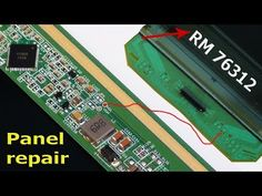 In this video about Led tv panel repair bypass method without bonding machine. Samsung Picture, Sony Led Tv, Lg Display, Lcd Television, Tv Panel, Lg Tvs, Electronics Basics, Electronic Circuit Projects, Power Generator