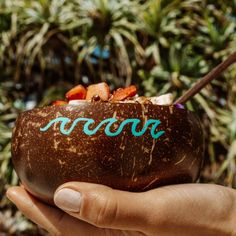 Coconut Bowl, Coconut Shell, Oceans Of The World, Our World, Ocean Day, Beautiful Ocean, Wave Design, Wooden Spoons, Plant Based Recipes