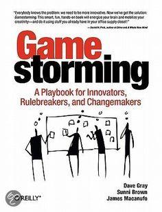 Boek: 'Gamestorming'  Hierin staan ruim 80 spellen die u helpen om barrières te slechten, beter te communiceren, inzicht te vergroten en nieuwe ideeën en strategieën te bedenken.  http://www.managementboek.nl/boek/9789013106626/gamestorming-nederlandstalig-dave-gray?affiliate=3087