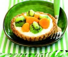 Receita Tarteletes de Frutos Tropicais por Equipa Bimby - Categoria da receita Sobremesas
