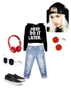 """Just fashion"" by cokea on Polyvore featuring Vans, Wet Seal, Creep Street, Una-Home and Beats by Dr. Dre"