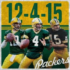 Today is Packer QB Day!