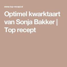 Optimel kwarktaart van Sonja Bakker | Top recept
