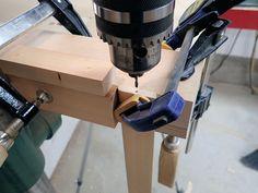 drill small hole in end of long slat Wooden Shutter Blinds, Wooden Window Shutters, Diy Shutters, Wooden Windows, Wooden Slats, Wooden Diy, Shutter Hardware, Diy Home Improvement, Diys