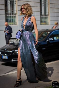 metallics garments street style fashion style trend8