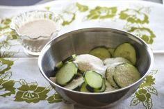 """Make """"Almost"""" Pickles in Just Ten Minutes"""