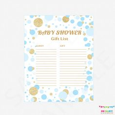 gold baby shower wishes for baby card sign wishes for baby printable baby shower wish cards boy girl instant download cb0003 g pinterest gold baby