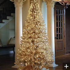 Tall Slim Christmas Tree