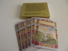 Vintage Unicorn Bookplates Box of 25 Stickers Labels Antioch. $30.00, via Etsy.