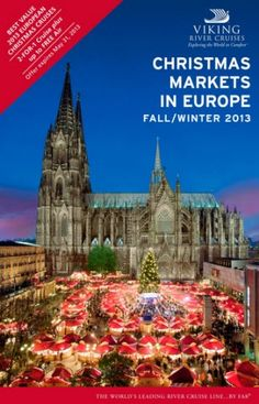 Viking River Cruises Christmas Markets in Europe.